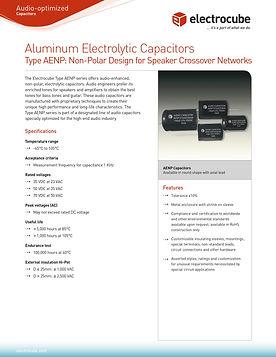 Electrocube AEPN Series Aluminum Electrolytic Capacitors