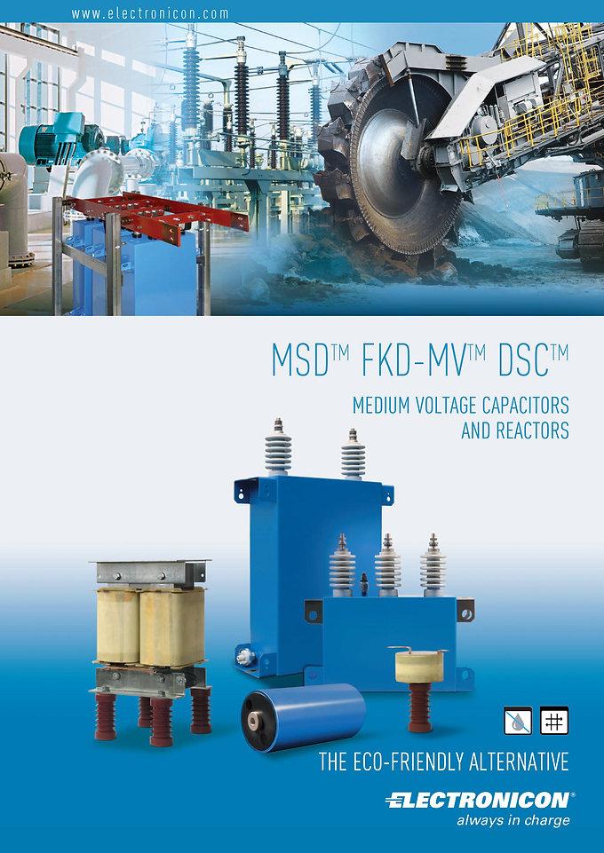 Electronicon Medium Voltage Capacitors