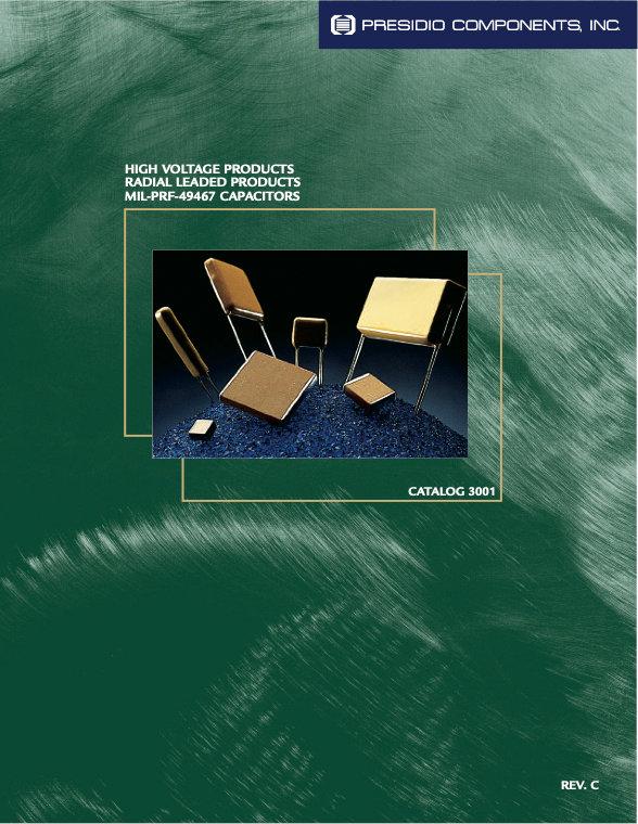 Presidio Radial Leaded High Voltage Ceramic Capacitors