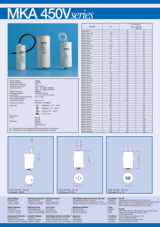 Comar Motor Capacitors