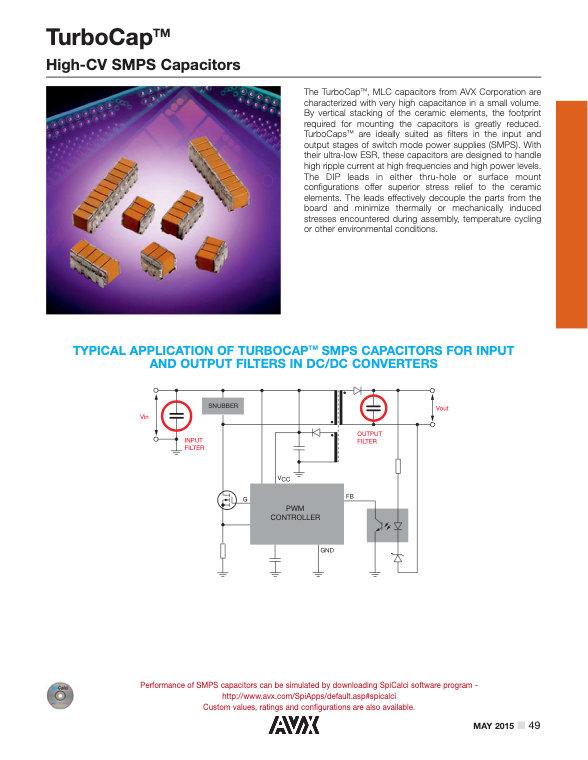 AVX ST12/ST20 Series MLC Capacitors