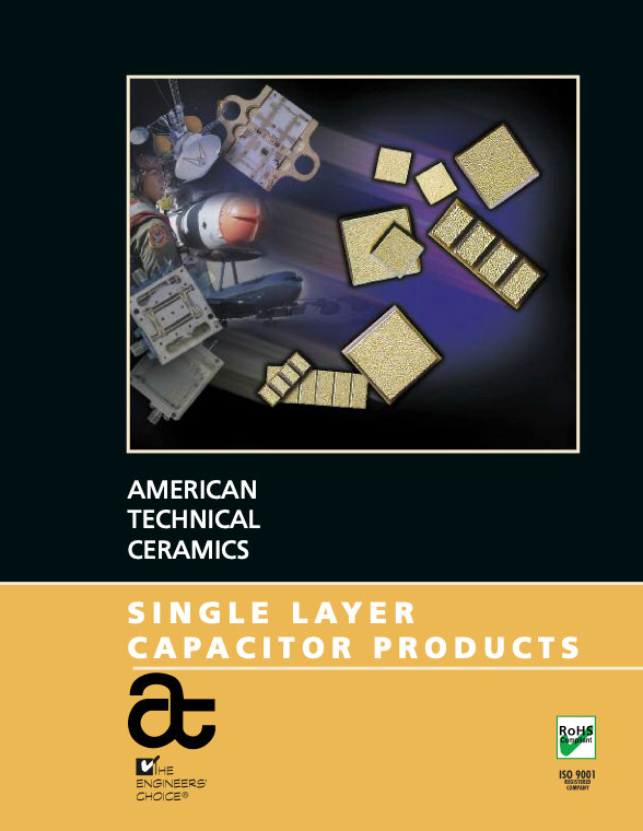 ATC Single Layer Ceramic Capacitors