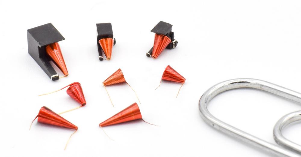 Conical broadband inductors