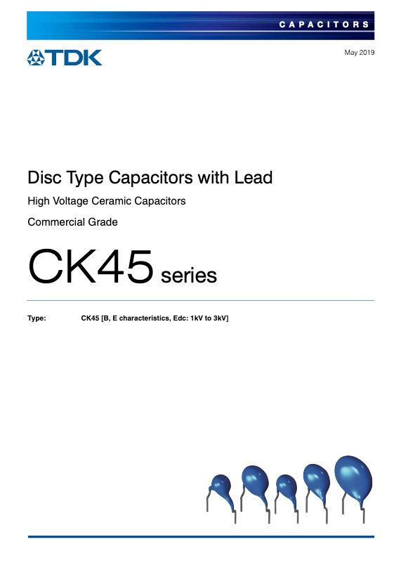 TDK CK45 Series