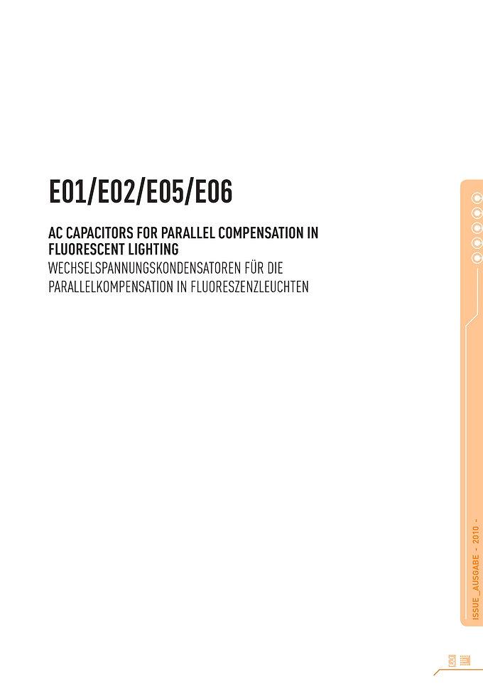 Electronicon Fluorescent Lighting Capacitors