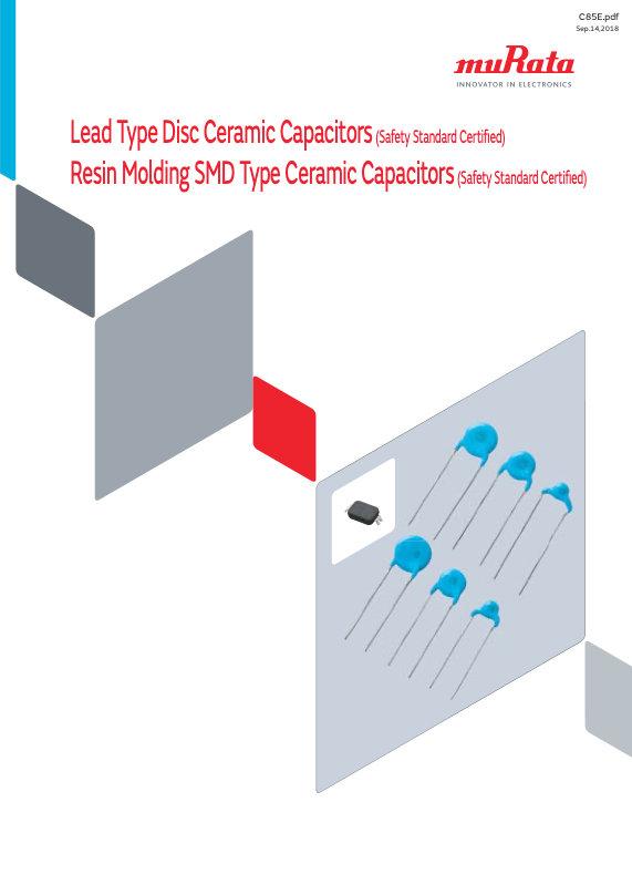 Murata Safety Certified Ceramic Disc Capacitors