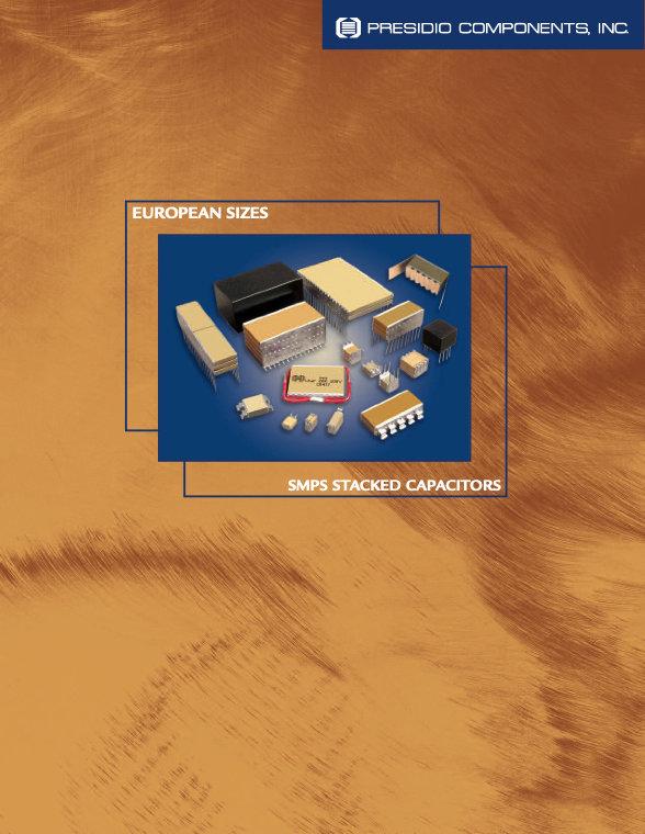 Presidio European Size MLC Capacitor Assemblies