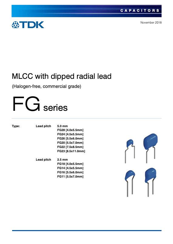 TDK FG Series