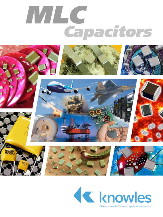 Knowles MLC Capacitors