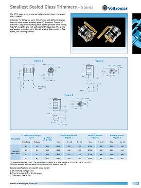 Voltronics Glass and Quartz Trimmers