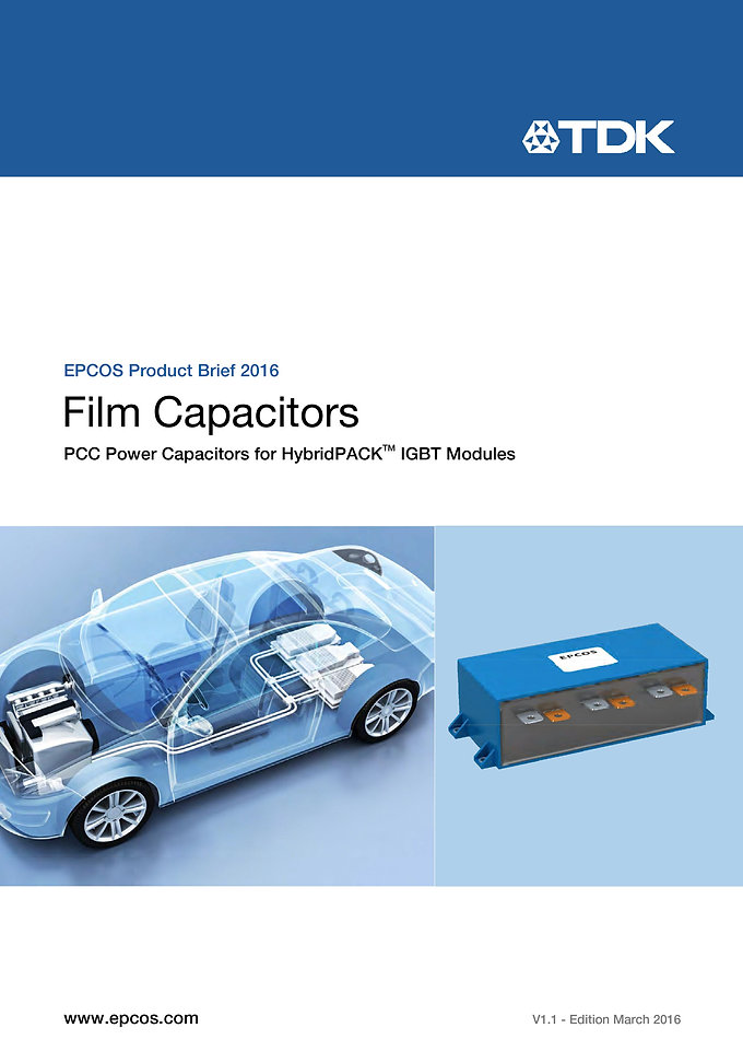 Epcos B25655 Series HEV Capacitors