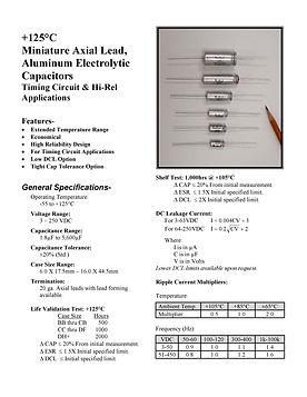 BMI 630D Series Aluminum Capacitors