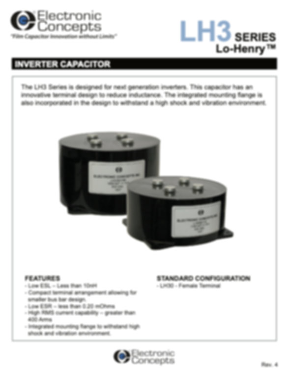 Electronic Concepts LH3 Series