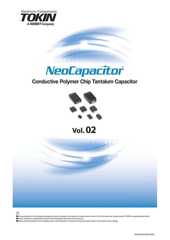 NEC SMT Tantalum Polymer Capacitors