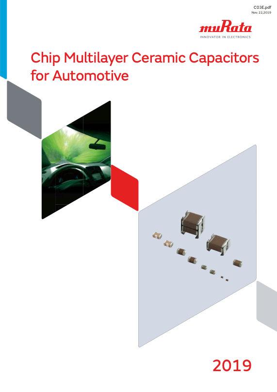 Murata Automotive Grade SMT MLC Capacitors