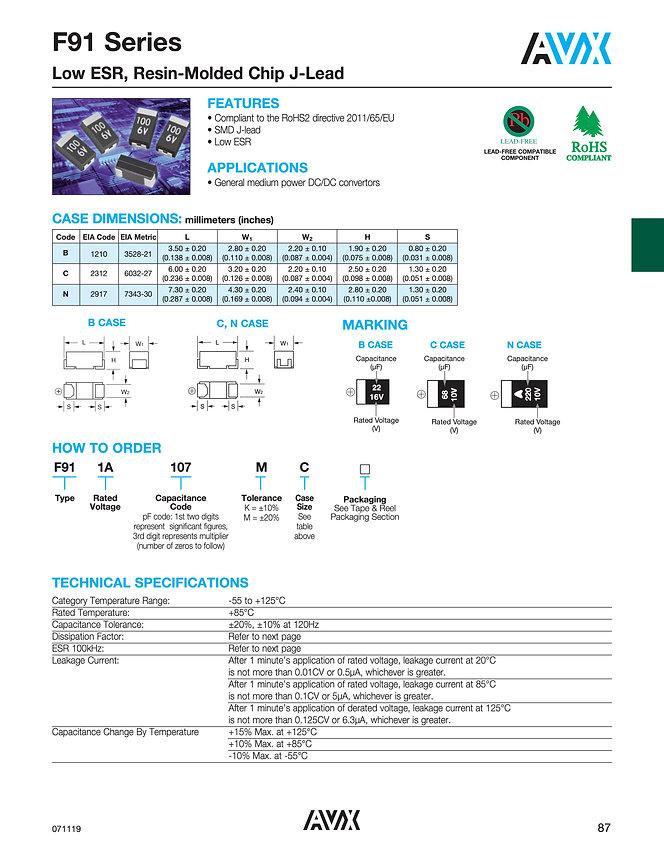 AVX F91 Series