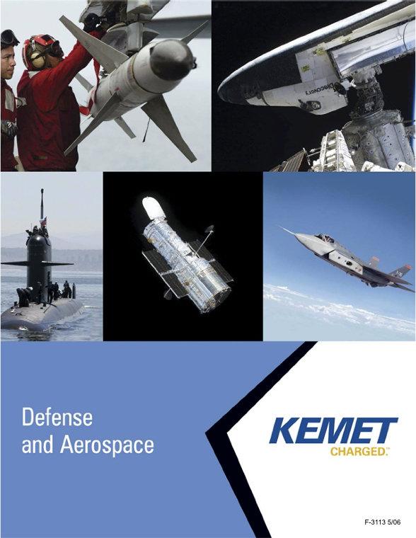 KEMET Aerospace And Military Grade SMT MLC Capacitors