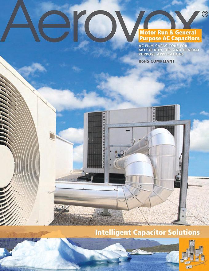Aerovox Motor Run Capacitors