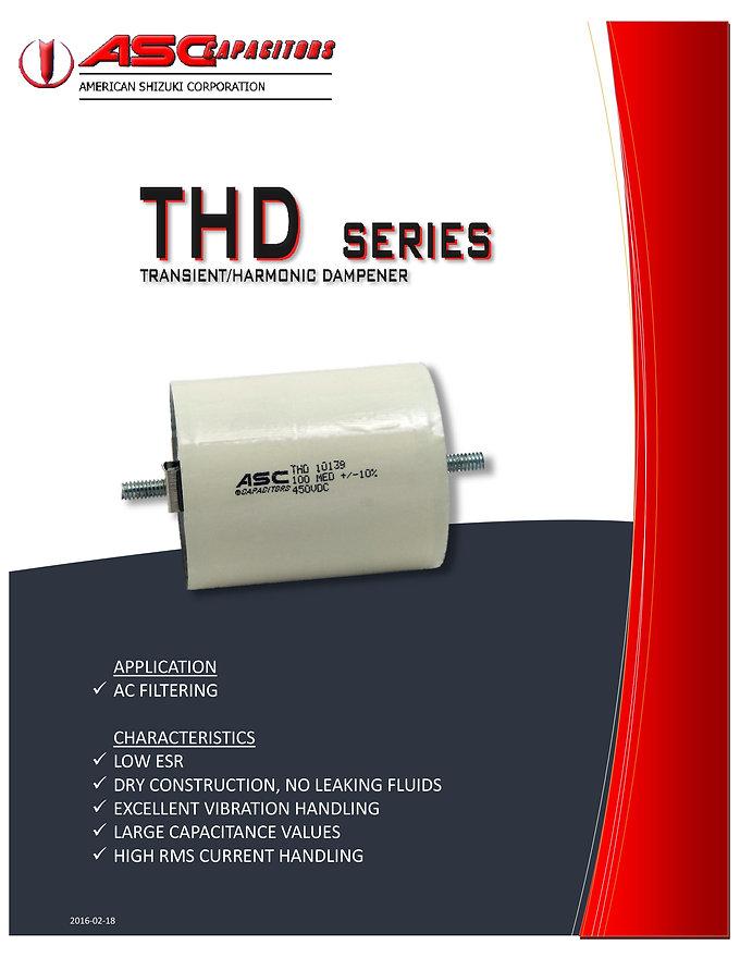 ASC THD Series AC Filter Capacitors