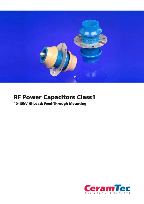 CeramTec RF Power Feed Through Capacitors