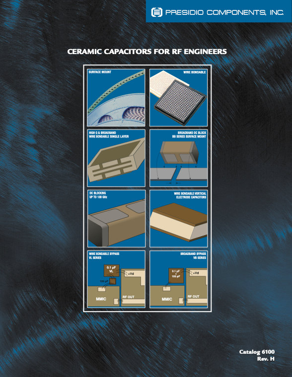 Presidio RF/Microwave Ceramic Chip Capacitors