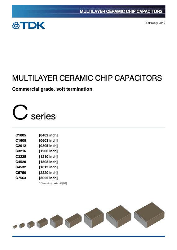 TDK C Series Soft Terminations