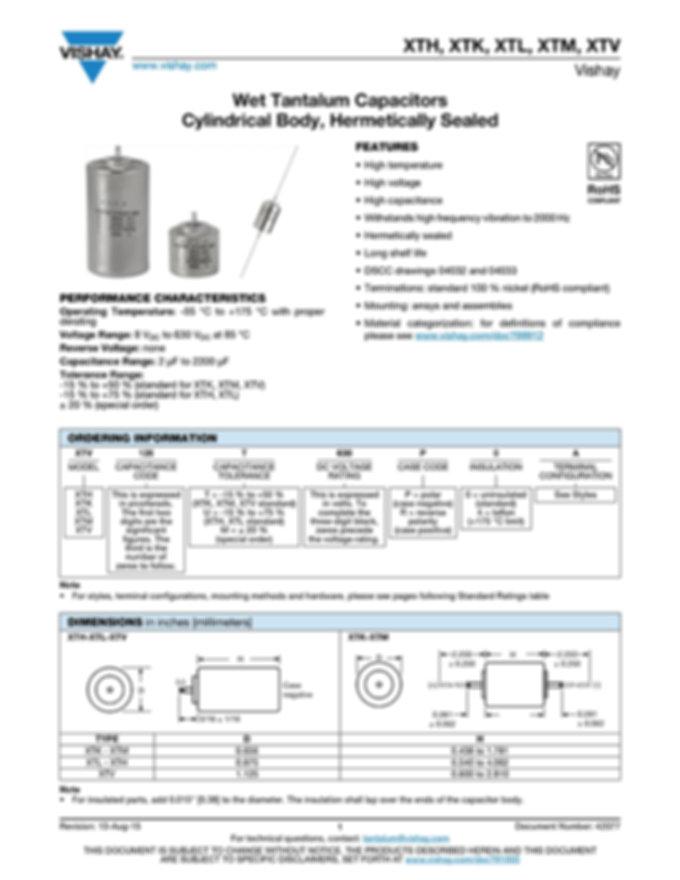 ASC MEC-HC Series Film Capacitors