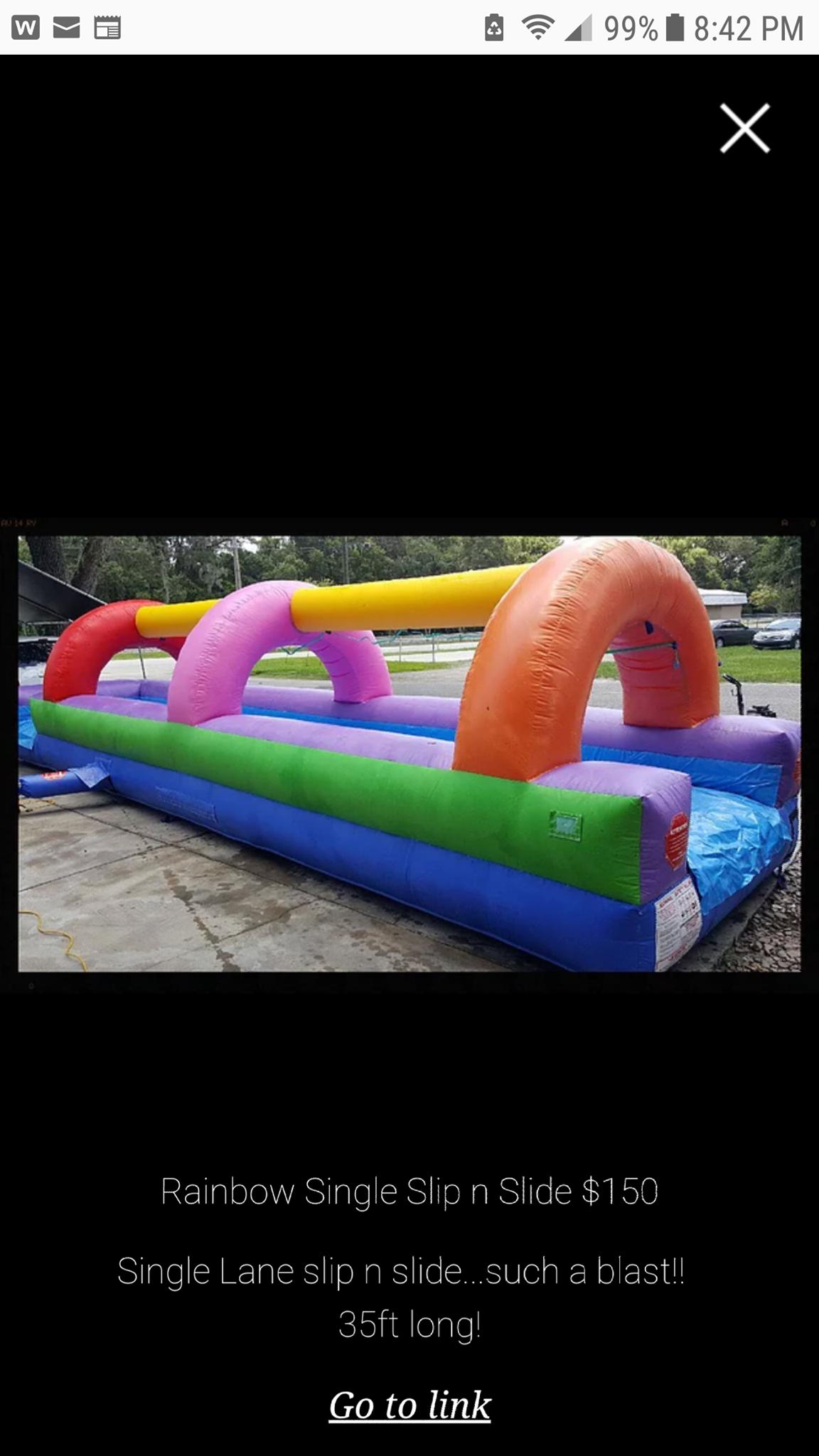 Slip N Slide Wet Only