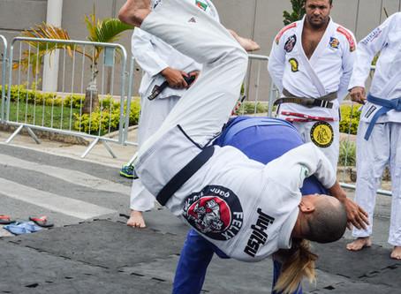 Apresentação Jiu Jitsu