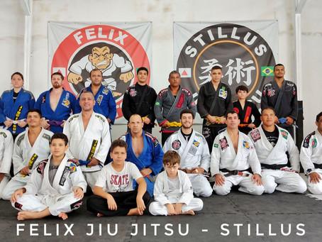 1 Ano Stillus Jiu Jitsu