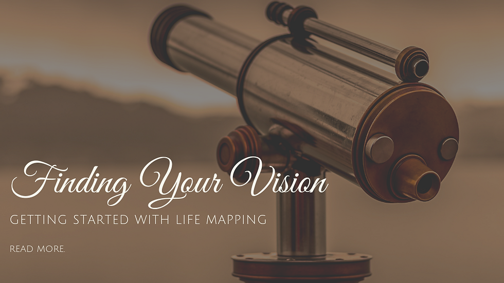 Finding Your Vision