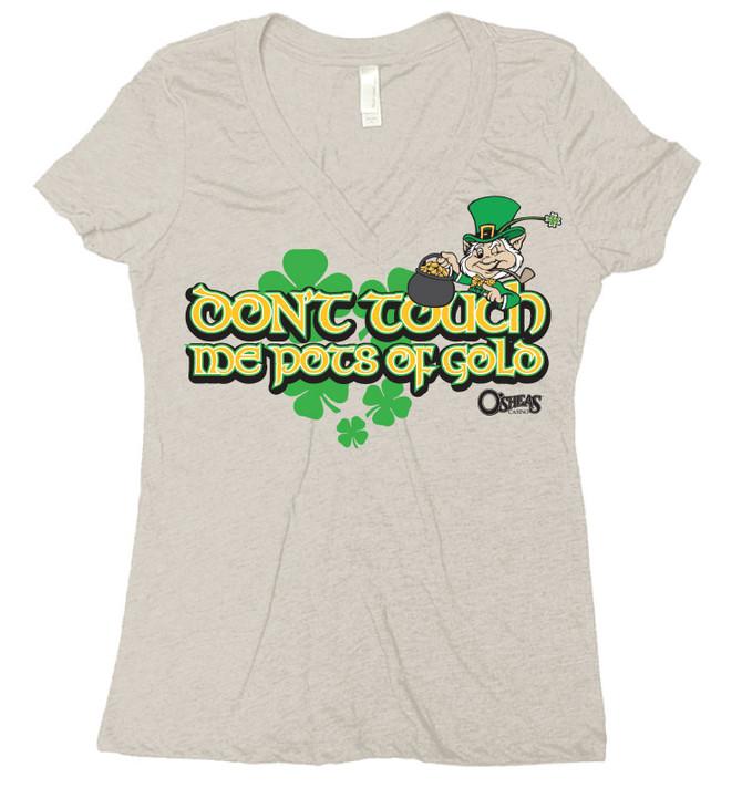 St. Pattys Day Girls Shirt