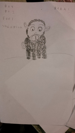 "By Matthew W ""sheepish"" at RMHS"