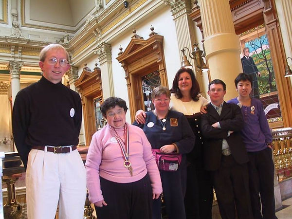 people with IDD at the Colorado Capitol