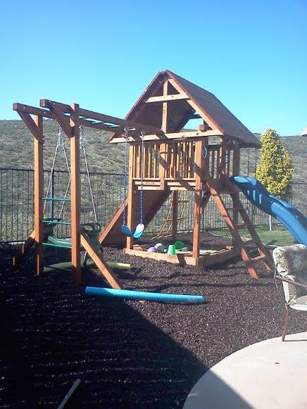 Custom Kid's Playground