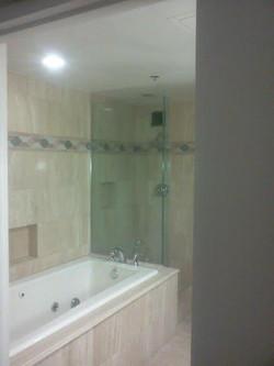 Sleek Bathroom Remodel