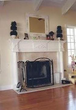 Beautiful, Classic Fireplace