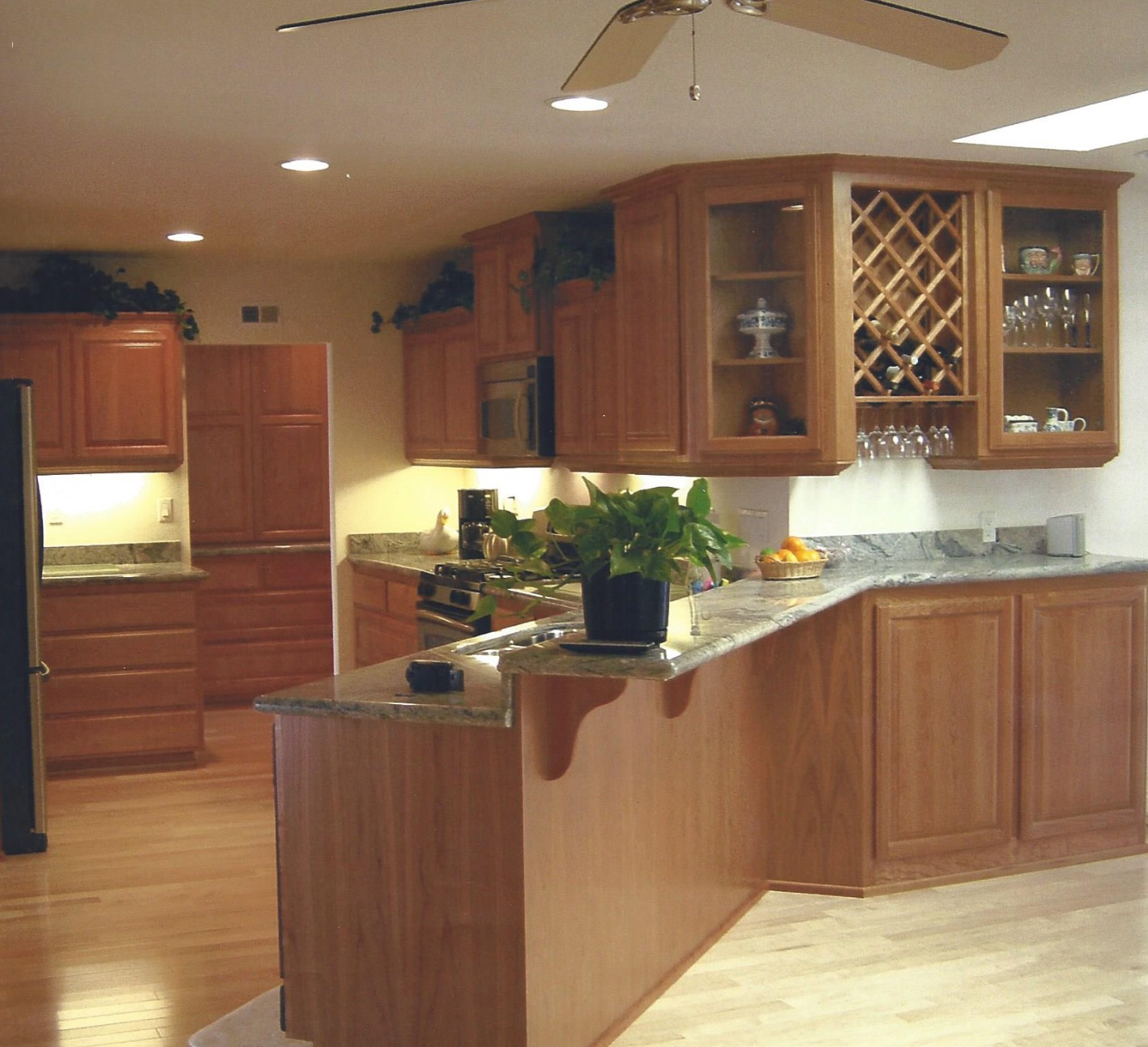 New Cabinets and Clean Remodel