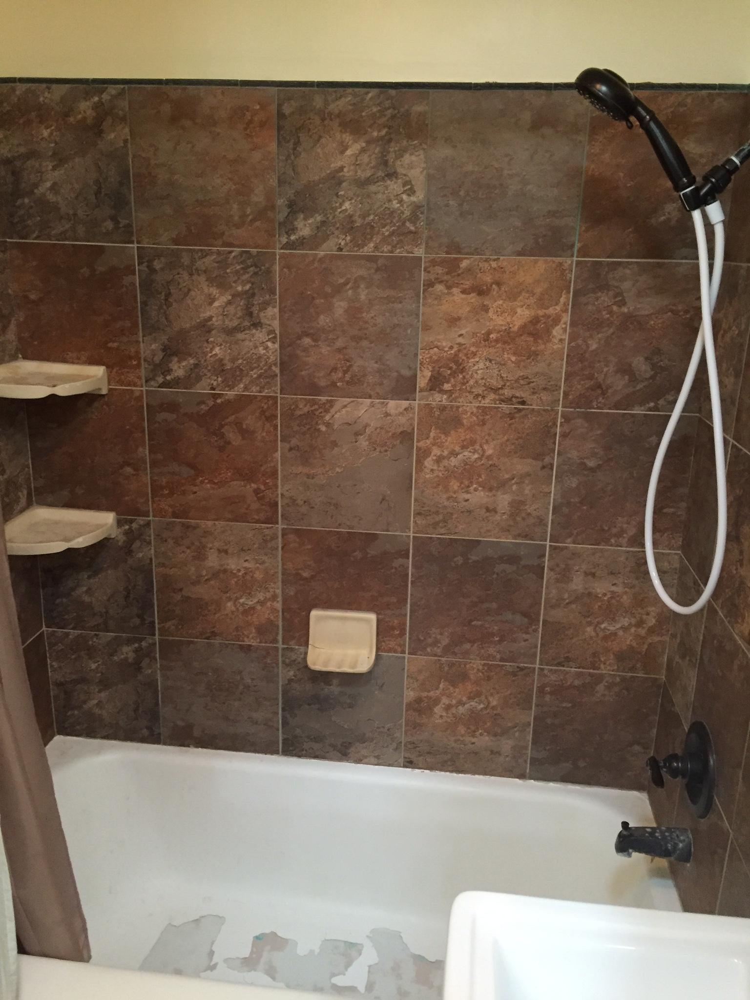Sleek Bathroom Remodel: BEFORE