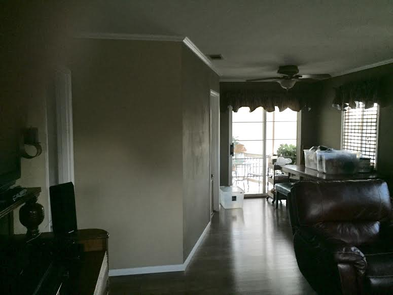 New Great Room: BEFORE