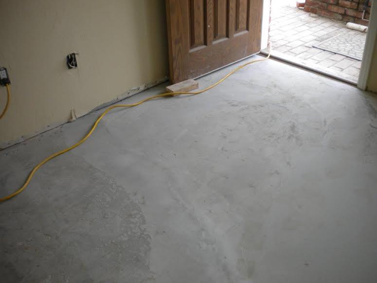 Concrete Floor Repair: AFTER