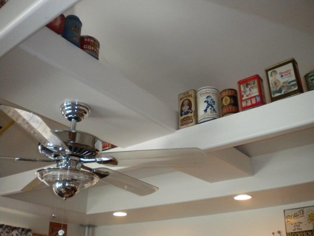 Indoor Ceiling Beams