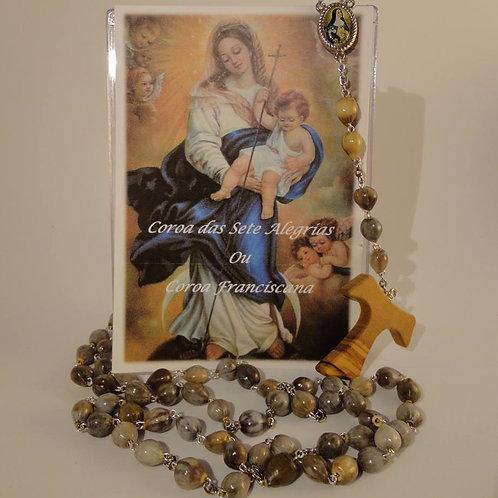 Coroa Franciscana das 7 alegrias de Nossa Senhora