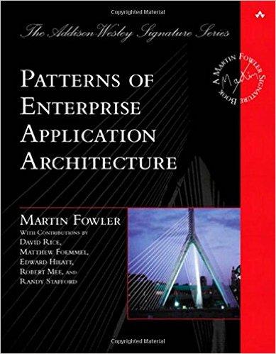 Các mô hình kiến trúc ứng dụng cho doanh nghiệp của Martin Fowler