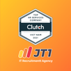 JT1 gets the Clutch Award for Top HR Services company in Vietnam