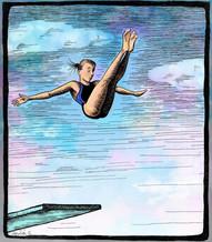 Faith diving at SMU