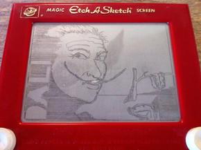 Dali - Etch A Sketch
