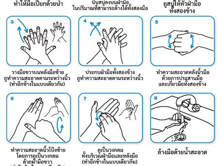 วิธีล้างมืออย่างไร ให้ห่างไกล โควิด-19 ✋