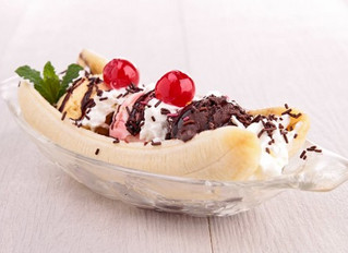 Coupe de glace Banana split
