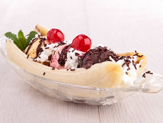 Coupe de glace Banana split